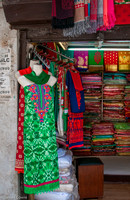 Lalitpur City is full of colourful shops and smiling people.