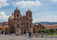 Another one of the beautiful cathedrals found in Cusco.